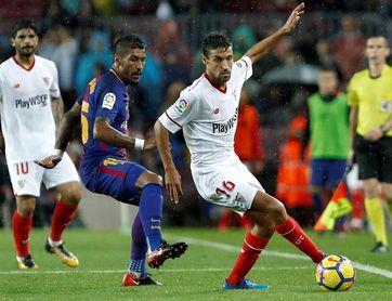 Navas se convierte en el jugador con mas partidos oficiales en el Sevilla
