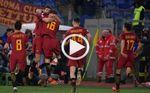 La Roma gana con un gol de Fazio pese el penalti andando de Perotti