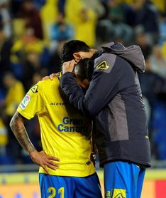 """Jonathan Viera: """"Ha sido una pena, el equipo había tirado de garra y corazón"""""""