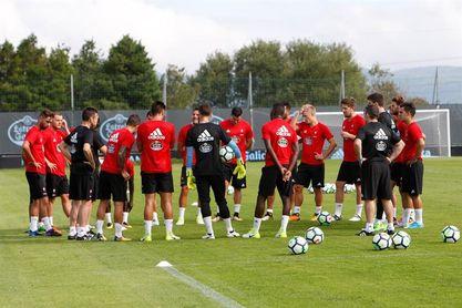El Celta se entrena sin Aspas y con Hernández al margen del grupo