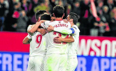 El Sevilla no ha conocido la derrota en el Ramón Sánchez-Pizjuán en todo el 2017.
