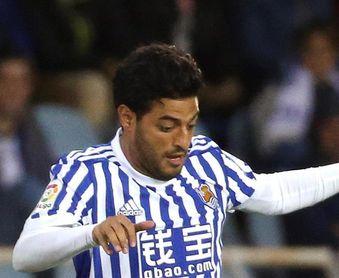 Real Sociedad y Sevilla auguran goles en la despedida de Carlos Vela