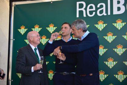 Setién, Haro y Serra, optimistas con la renovación de Fabián
