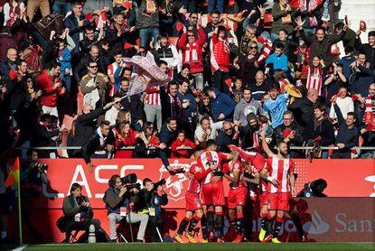 El Girona mejora sus registros defensivos