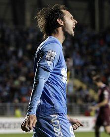 El goleador argentino Pablo Calandria renovó por un año en el O´Higgins
