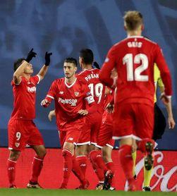3-1. Carlos Vela se despide a lo grande en triunfo de la Real ante el Sevilla