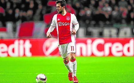 A Amin Younes (Ajax), extremo de 24 años, le comparan con Insigne.