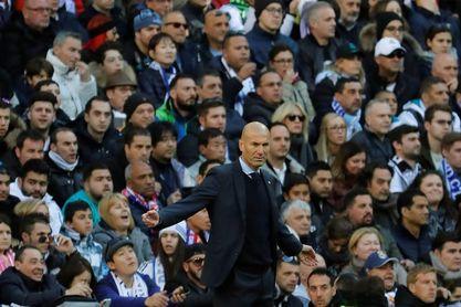 """Zidane, sobre su planteamiento: """"Sé que mañana me van a meter ostias"""""""
