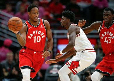 102-86. DeRozan y los Raptors suman su sexto triunfo seguido