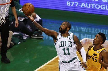 117-92. Irving lidera el triunfo de los Celtics