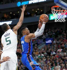 89-103. Westbrook logra triple-doble en triunfo de los Thunder