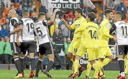 El Villarreal se impuso 0-1 en Mestalla.