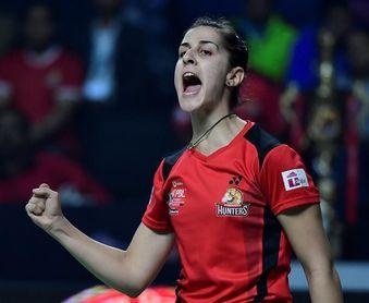 Marín arranca la liga india con una cómoda victoria para los Hyderabad Hunter