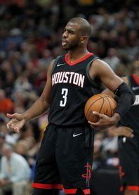 Chris Paul es duda con Rockets para el partido ante los Thunder