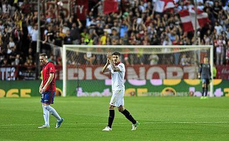 Jovetic vería con buenos ojos su vuelta al Sevilla.