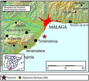 Registrados dos terremotos de tres grados de magnitud en Torremolinos