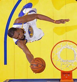 126-101. Durant afianza a los Warriors como líderes tras vencer a los Jazz