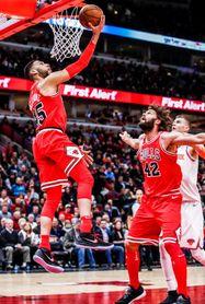 92-87. Dunn mantiene en el camino triunfal a los Bulls, que vencen a los Knicks
