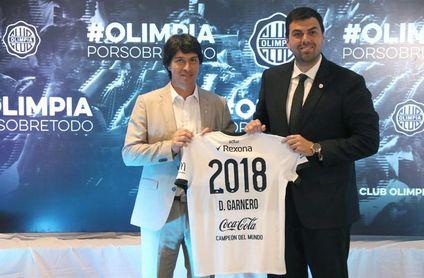 """El argentino Garnero llega al banquillo de Olimpia sin """"prometer resultados"""""""