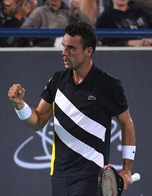 Roberto Bautista gana al ruso Rublev y mañana jugará contra Djokovic