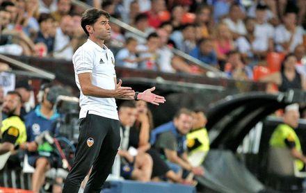 El Valencia confirma que Marcelino no se incorpora a los entrenamientos