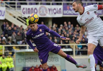 El Milan empata con el Fiorentina y cierra su 2017 fuera de la zona europea