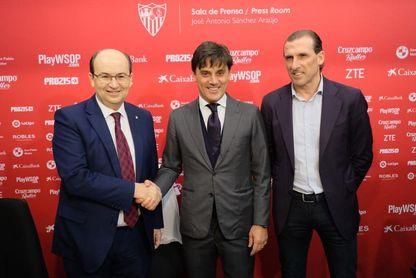 Los fichajes del Sevilla, en stand by hasta que decida Montella