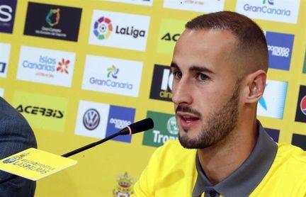 Las Palmas podría comprar a Gálvez, quien no jugará en Reyes frente al Eibar