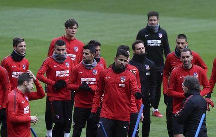 Koke sufre unas molestias musculares y se perderá la ida de Copa en Lleida