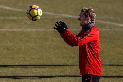 """Simeone espera que Griezmann siga en el Atlético """"un tiempo"""""""