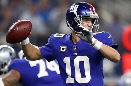 18-10. Manning jugó lo que pudo ser su último partido para los Giants