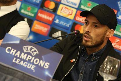 """Guardiola no sabe cuando volverá Silva: """"Regresará cuando esté listo"""""""