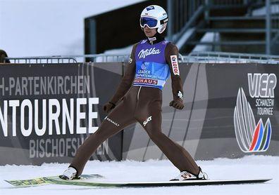 Kamil Stoch logra en Garmisch su segundo triunfo en el 4 Trampolines