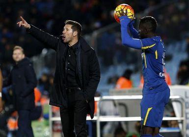 El Getafe tiene un problema con el gol frente al Atlético de Simeone