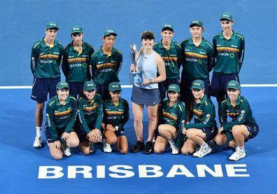 Elina Svitolina, campeona del torneo de Brisbane