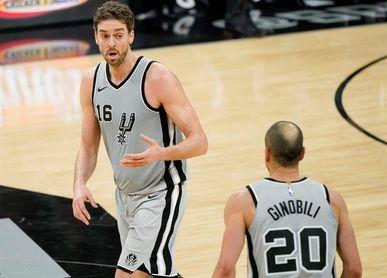 La aportación de Pau no impide la derrota de Spurs; juega Willy y ganan los Knicks