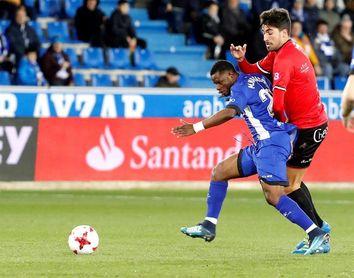 2-0. El Alavés supera sin apuros a un orgulloso Formentera