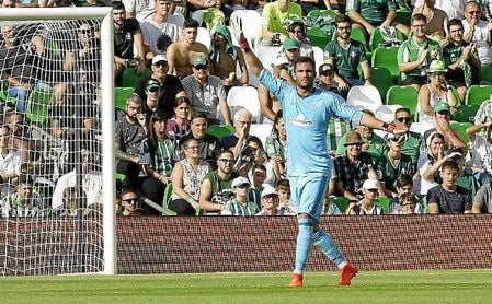 """Adán: """"La victoria importante será la del lunes ante el Leganés"""""""
