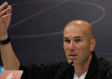 """Zidane: """"Lo bueno es que no vamos a salir de Madrid"""""""