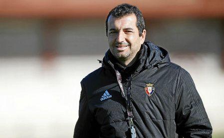 Diego Martínez, técnico de Osasuna.