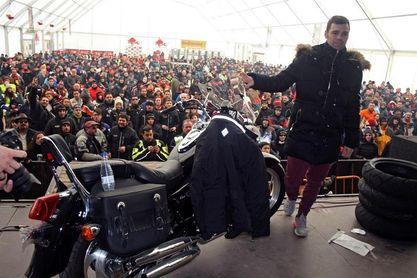 Ángel Nieto, protagonista en Motauros, que quiere superar los 14.000 inscritos