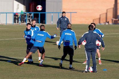 El Leganés ya prepara el duelo copero ante el Real Madrid