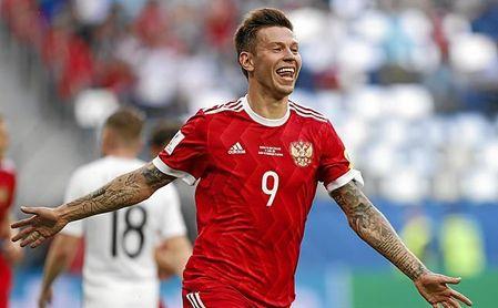 Smolov lleva 59 goles y 16 asistencias en dos temporadas y media.