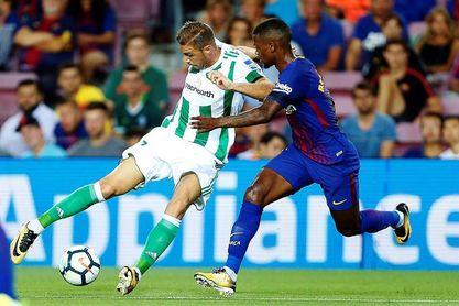 El Betis no le gana al Barça en Liga en el Villamarín desde hace un decenio