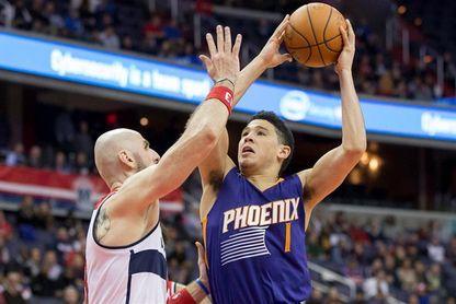 100-108. Booker y los Suns detienen una mala racha contra los Nuggets