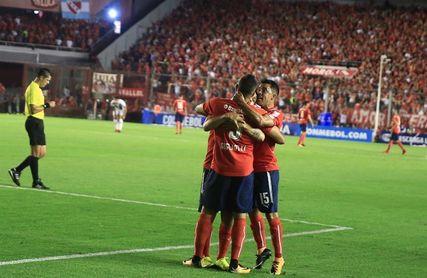 Independiente festejó ante Racing tras la definición en la tanda de penaltis