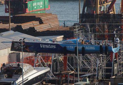 Un tripulante de un pesquero fallece tras una colisión con el VO65 ´Vestas´