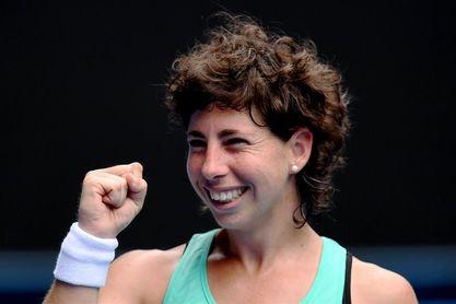 La española Carla Suárez alcanza los cuartos a costa de la estonia Kontaveit