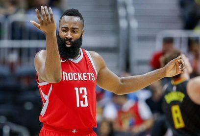 99-90. Harden rompe la defensa de Heat y da la victoria a los Rockets