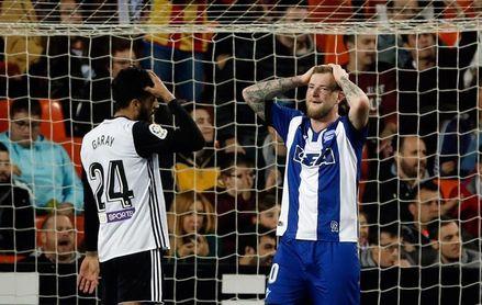 El Alavés, obligado a ganar para eliminar a un Valencia que parte con ventaja
